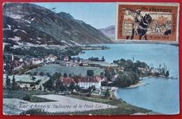 Cpa 74 ANNECY Lac Talloires Vignette Cavalcade Juin 1910 - Annecy