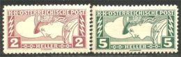 154 Austria 1917 Mercury Mercure Newspaper Journaux MNH ** Neuf SC (AUT-494) - Journaux