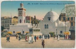 Alger - Statue Du Duc D'Orléans & Mosquée Djemaa Djedid - Algiers