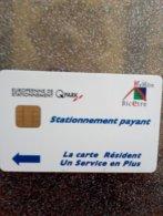 CARTE STATIONNEMENT CHIP CARD KREMLIN BICETRE QPARK NEUVE - PIAF Parking Cards