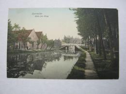HARMELEN ,  1917 , Camp De Zeist , Briefkaart  Naa Dänemark !!    2 Scan - Woerden