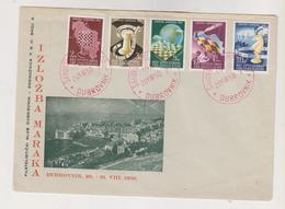 YUGOSLAVIA,1950 DUBROVNIK CHESS OLYMPIC  FDC Cover - Storia Postale