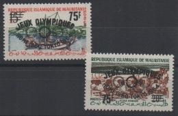 Mauritanie Mauretania 1962 Jeux Olympiques Olympic Games Roma Tokyo Mi. I,II II,II MNH ** - Mauritanie (1960-...)