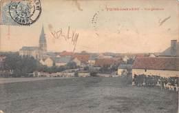 51 - Tours-sur-Marne - Un Beau Panorama - Eglise - ( Colorisé) - Autres Communes