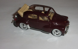 Voiture Renault 4 Cv Décapotable - Solido - Non Classificati