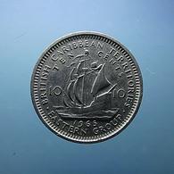 British Caribbean Territories 10 Cents 1965 - Territoires Britanniques Des Caraïbes