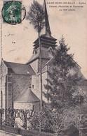 D72  SAINT RÉMY DE SILLÉ  Église Chevet Absidiole Et Tourelles Du XIII ème Siècle  ......... Carte Peu Courante - Sille Le Guillaume