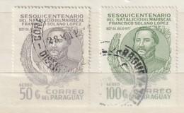 PARAGUAY - 1977 - Nrs. MI  2940 En 2941 Of Y&T 816 En 817  - Francisco Solano Lopez -  Gestempeld ° - Paraguay