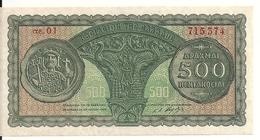 GRECE 500 DRACHMAI 1950 UNC P 325 - Grèce