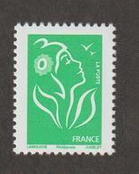 Variétés - 1987  - Type Lamouche -   N°  3733Aa -  TVP Vert  -  Type II -    Phil@poste     -  Neuf Sans Charnière - Abarten Und Kuriositäten