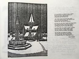 Boek GESIGNEERD - Geraardsbergen - KAREL ROSIER - Kwa-Trijnen En Fiorituren - Laatste Gedichten En Houtsneden - 1985 - Geraardsbergen