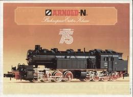 Catalogue ARNOLD 1981 POSTER Bahnspass Erster Klasse 75° - Allemand