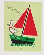 SAVIGNAC  - Brasserie Restaurant Les Voiles Trouville  - CPM  10,5x15  BE 1992 Neuve - Savignac