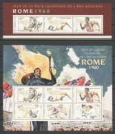 Niger - MNH Set Of 2 Sheets SUMMER OLYMPICS ROME 1960 - Ete 1960: Rome
