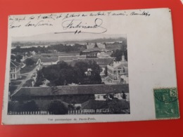 Cambodge - Vue Panoramique De  Phnompenh - écrite En 1907 - Cambodge