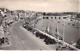 44 - LE POULIGUEN : Quai Jules Sandeau - CPSM Village ( 4.455 H ) Dentelée Noir Blanc Format CPA 1956 - Loire Atlantique - Le Pouliguen