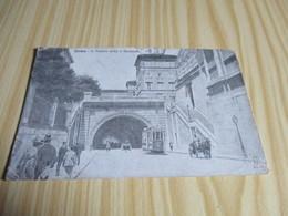 Roma (Italie).Il Traforo Sotto Il Quirinale. - Transports
