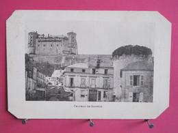 Visuel Très Peu Courant - 49 - Château De Saumur - Chocolat Des Friands - Recto Verso - Publicités