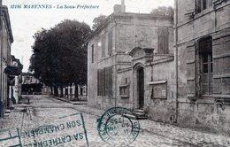 17  MARENNES LA SOUS PREFECTURE - Marennes
