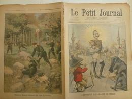 Le Petit Journal 6 Novembre 1898 416 Empereur D'Allemagne Officiers Russes Prussiens - 1850 - 1899