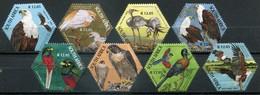 Südafrika Mi# 1609-16 Postfrisch/MNH - Fauna Birds - Afrique Du Sud (1961-...)
