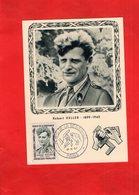 G0404 - Héros De La Résistance - Robert KELLER - 1899-1945 ------ TIMBRE - Hommes Politiques & Militaires