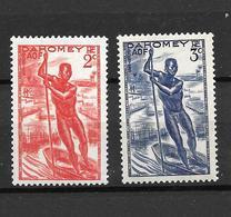 1941 - Dahomey /  Pirogue / YT 120/121  / MNH** - Neufs