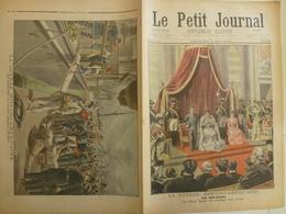 Le Petit Journal 8 Mai 1898 390 La Guerre Hispano Américaine Key West Prisonniers Antilles - 1850 - 1899