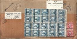 United States Parcel Post  New York - Switzerland         Ca. 1930 - Briefe U. Dokumente
