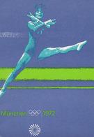 OFFIZIELLE OLYMPIA POSTER - SPIELE DER XX. OLYMPIADE - MÜNCHEN 1972 / XXth OLYMPIC GAMES : GYMNASTICS / FLOOR (ae506) - Ginnastica