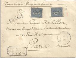 Lettre Ancienne France 1906 - Cartas