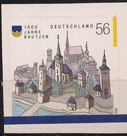 2002 Deutschland Allem. Fed. Yv.  2074A Mi. 2245 **MNH 1000 Jahre Bautzen  Booklet Stamp - [7] Repubblica Federale