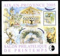 FRANCE. Bloc 43 CNEP. Salon Philatélique De Printemps Aix-en-Provence 2005. - CNEP