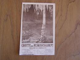 REMOUCHAMPS Grotte De Remouchamps N° 12 Vallée De L'Amblève Aywaille Carte Postale Postkaart - Aywaille