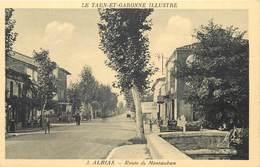 ALBIAS-route De Montauban - Albias
