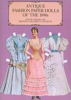 Antique Fashion Paper Dolls Of The 1890s Dover (découpages & Poupées à Habiller) - Enfants