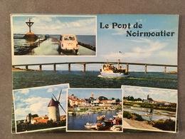 VENDEE CPM LE PONT DE NOIRMOUTIER 4 L RENAULT - Noirmoutier