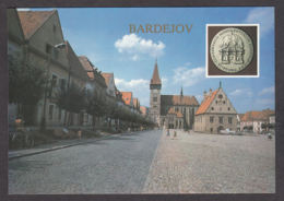113388/ BARDEJOV, Town Hall Square, City Hall, Church Of St Egidius - Slovacchia