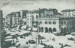 VERONA-PIAZZA ERBE-LE CASE DEL GHETTO-CARTOLINA NON VIAGGIATA-DATATA 26-1-1918 - Verona
