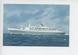 Holland America Line S.S. Statendam - Steamers