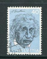 SUISSE- Y&T N°912- Oblitéré - Albert Einstein