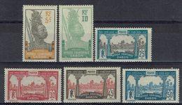 Gabon - N° 82/87 - Neufs X - Traces De Charnières - - Gabon (1886-1936)