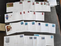 TIMBRE FRANCE LOT 24 ENVELOPPES PAP VALIDITE PERMANENTE MONDE 20G EXC - Lots Et Collections : Entiers Et PAP