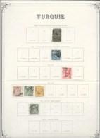 Turquie Classiques Lot 1862-1909 - Oblitérés