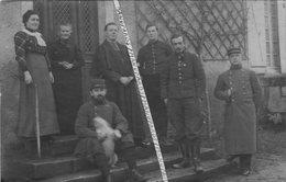52 HUMES / CARTE PHOTO / 1915 / GROUPE CLÉRICAL / CURÉ VERSEILLES / 152e RI ( GERARDMER ) ? 152e RÉGIMENT D'INFANTERIE ? - Sonstige Gemeinden
