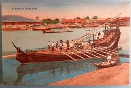 C. P. A. : Myanmar, Burma : A Burmese Paddy Boat - Myanmar (Burma)