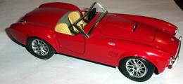 Voiture Burago Cobra 427 - Non Classificati