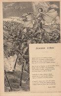 Jeanne D'Arc ///  REF. Avril 20 /// N° 11.041 - Personnages Historiques