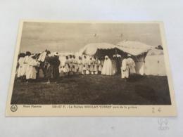 CPA MAROC - CASABLANCA - 592.107 F. - Le Sultan Moulay Yussef Sort De La Prière - Casablanca
