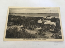 CPA MAROC - FEDHALA - 15 - Les Villas Et La Plage - Morocco